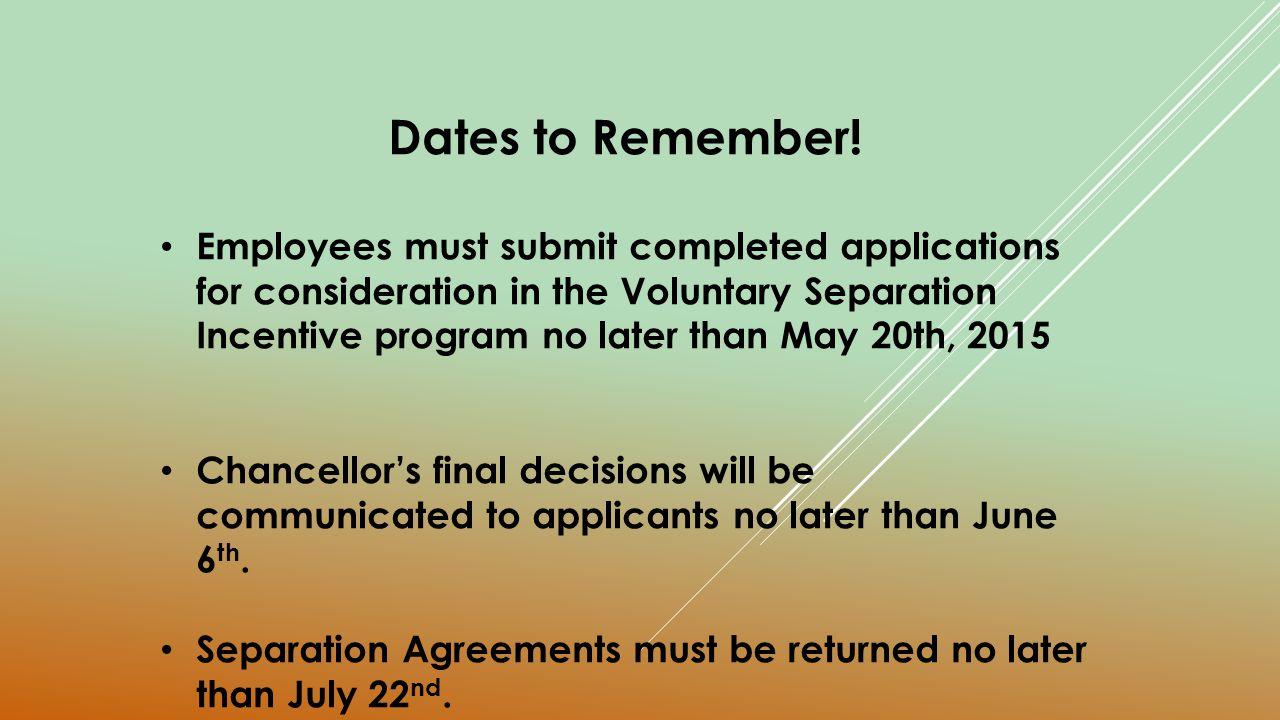 University Of Wisconsin Platteville Voluntary Separation Incentive