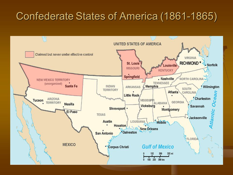 Confederate States of America ( )