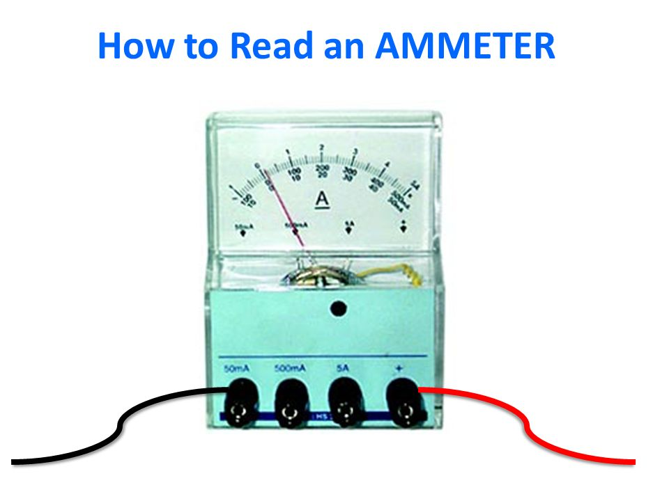 How to Read an AMMETER