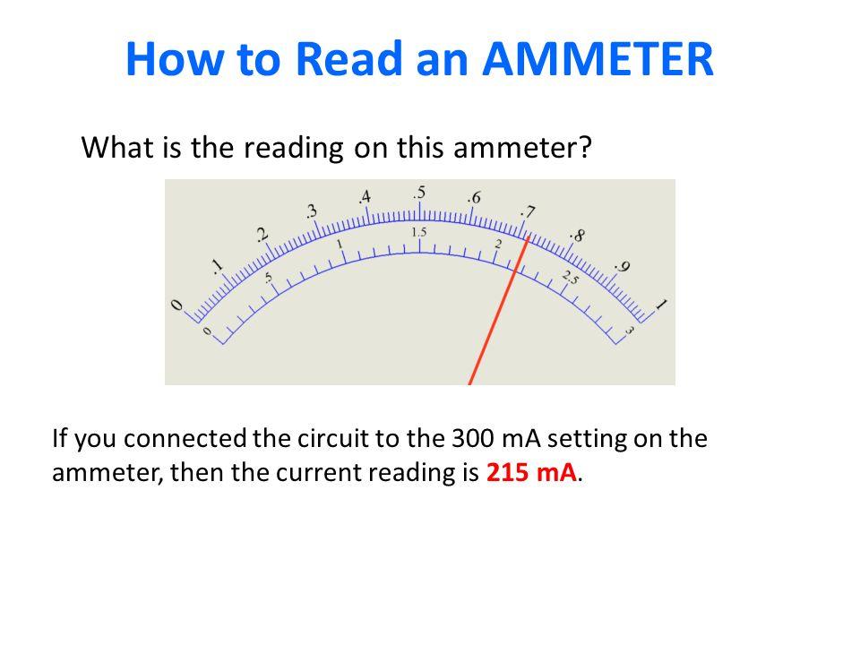 How to Read an AMMETER What is the reading on this ammeter.