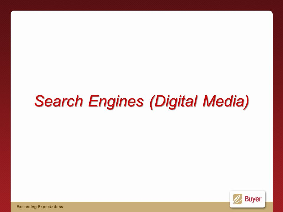 Search Engines (Digital Media)