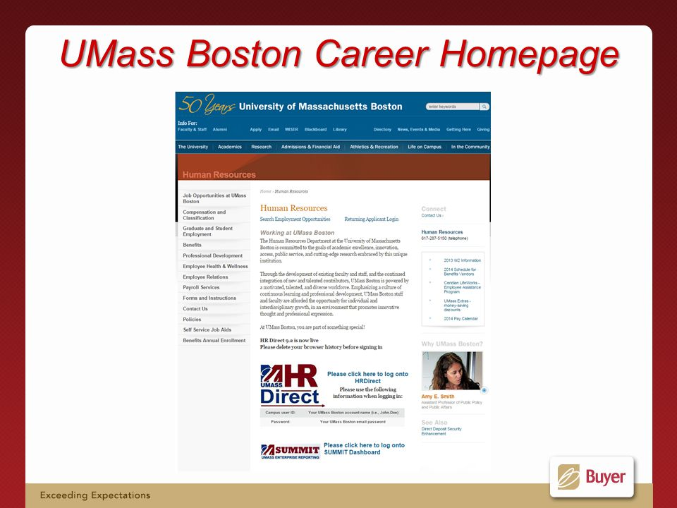 UMass Boston Career Homepage