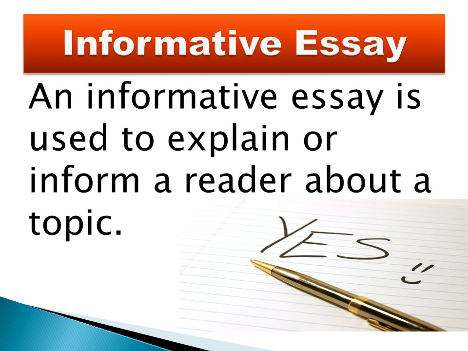 Health Essay  An Informative Essay Is Used To Explain Or Inform A Reader About A Topic Thesis Generator For Essay also Thesis Statement For Process Essay An Informative Essay Is Used To Explain Or Inform A Reader About A  Essay With Thesis Statement