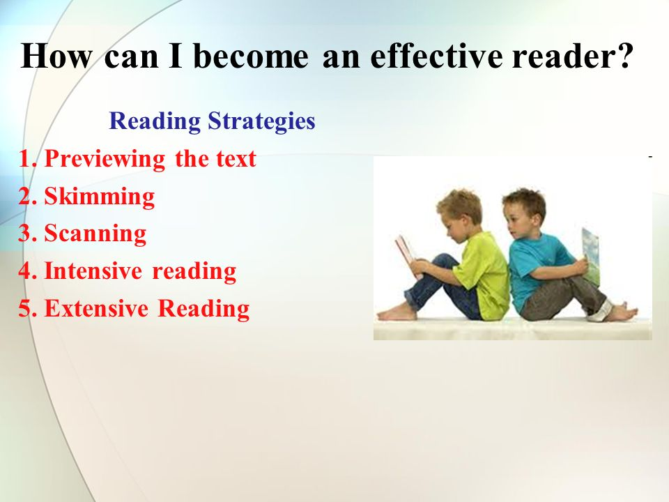 Reading Strategies 1. Previewing the text 2. Skimming 3.