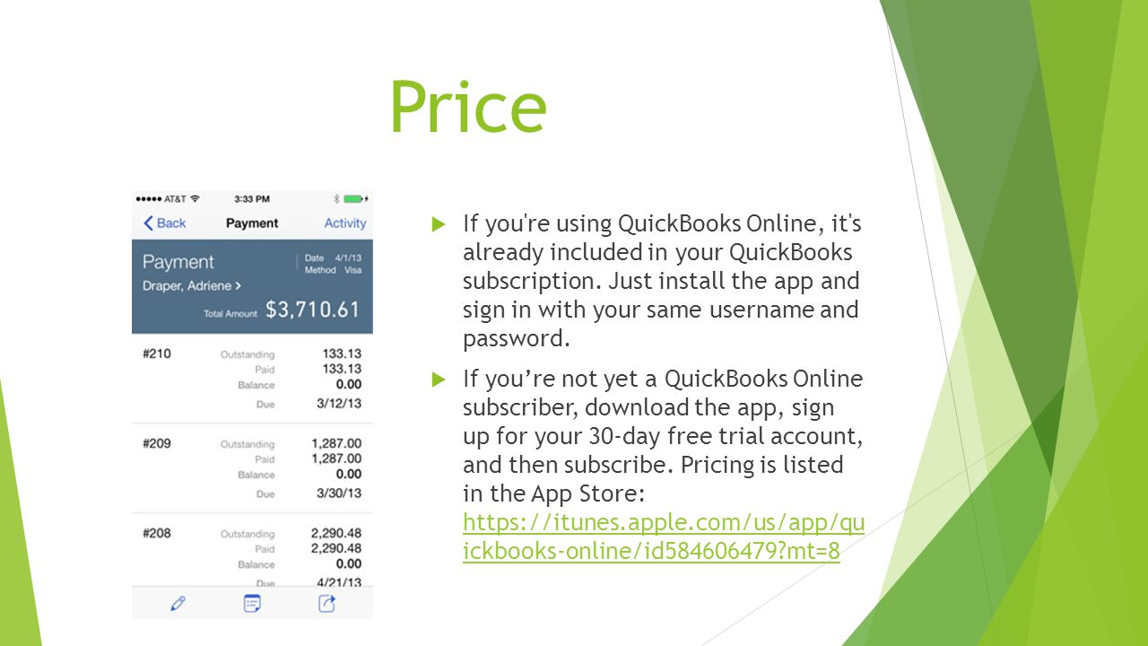 IPhone app with QuickBooks Online  What is QuickBooks Online for