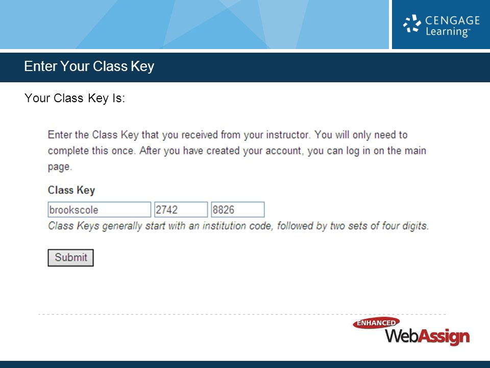 Logging In To Enhanced WebAssign Allows You To Complete