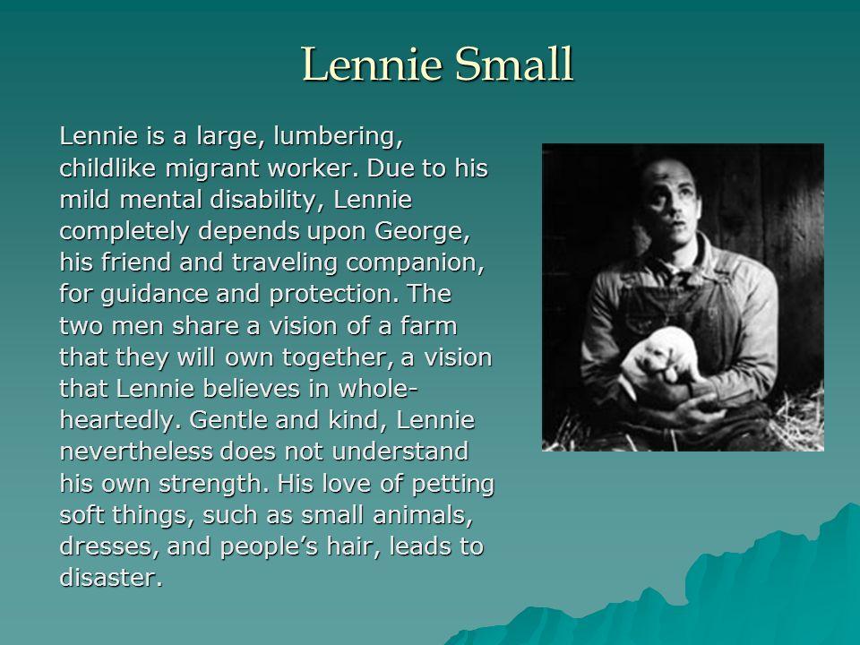 lennie small description