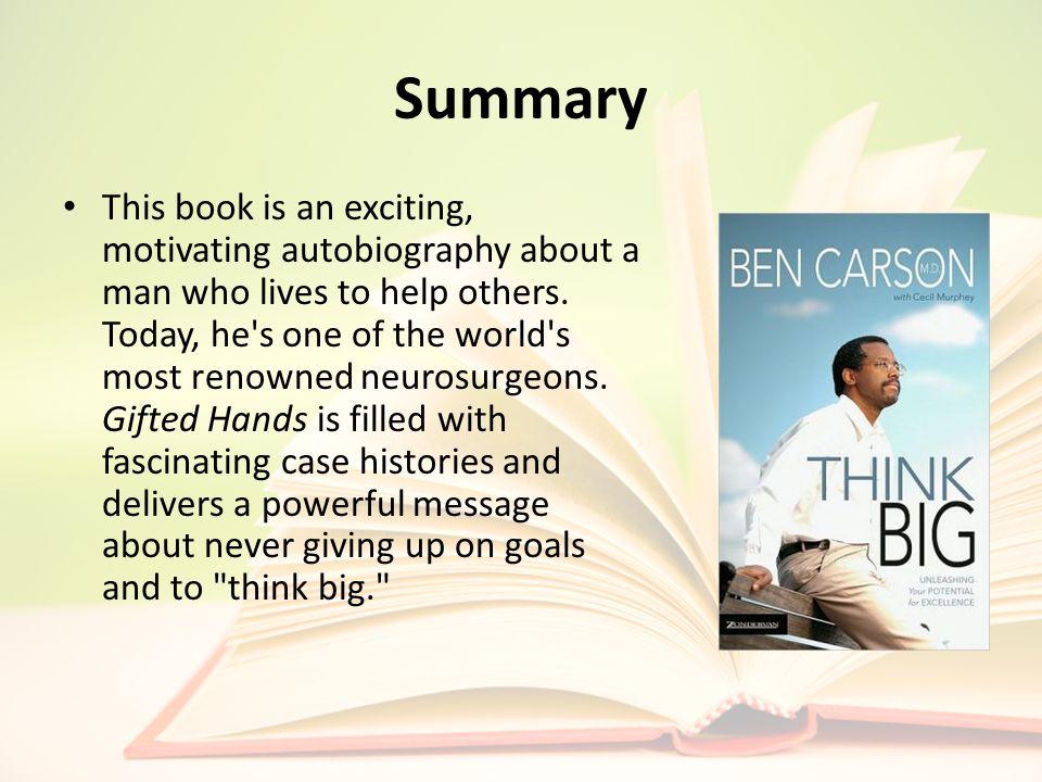 think big ben carson summary