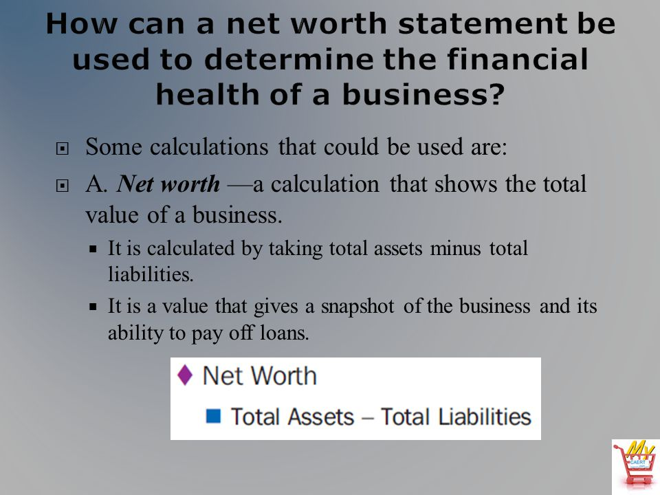 agribusiness library lesson l060087 calculating net worth ppt