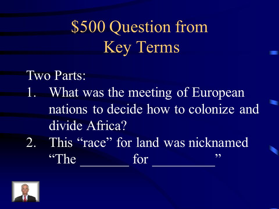 $400 Answer Desertification