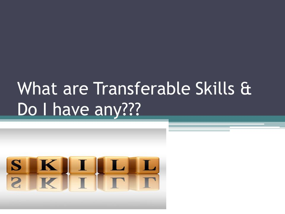 1 what are transferable