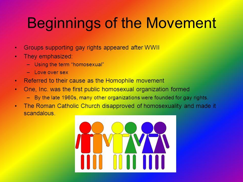 Gay rights organizations