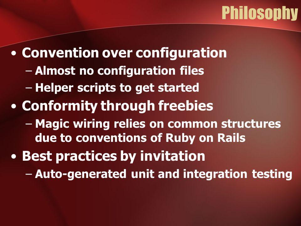Ruby on Rails Web development that doesn't hurt  Ruby on