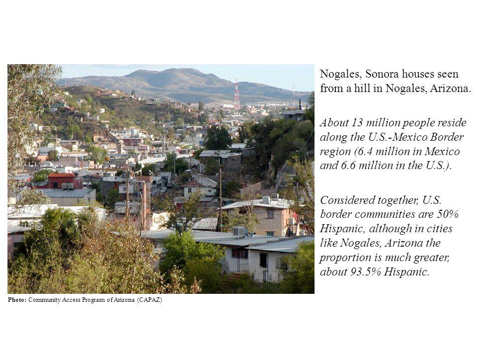 Access to Health Care in the U S -Mexico Border Region