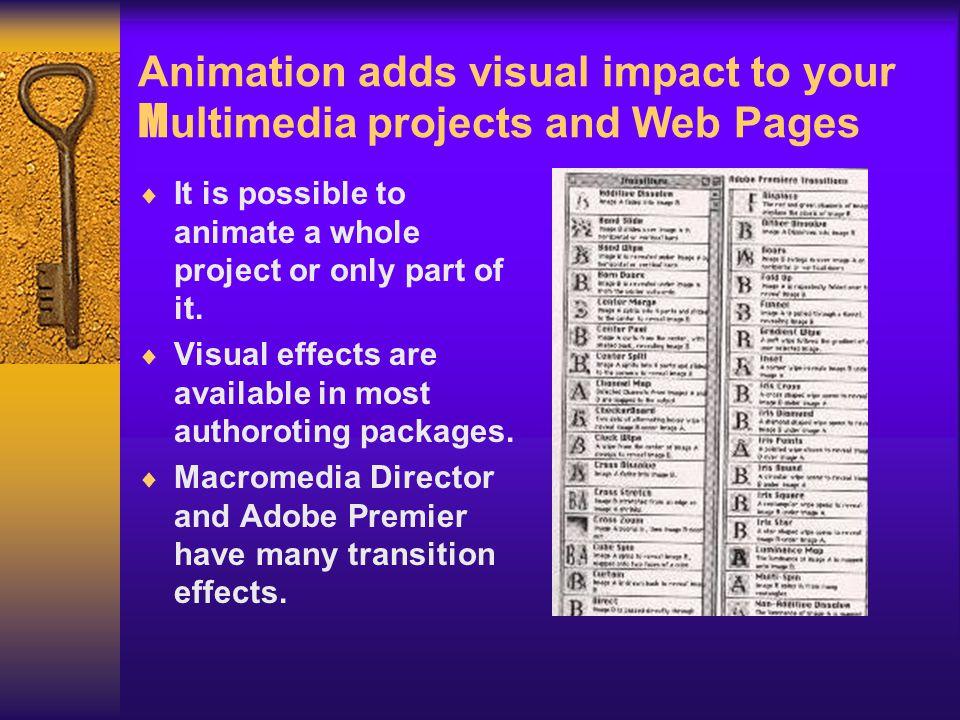 Chapter 11 ANIMATION  Group Name: Creative Web World  Jose T