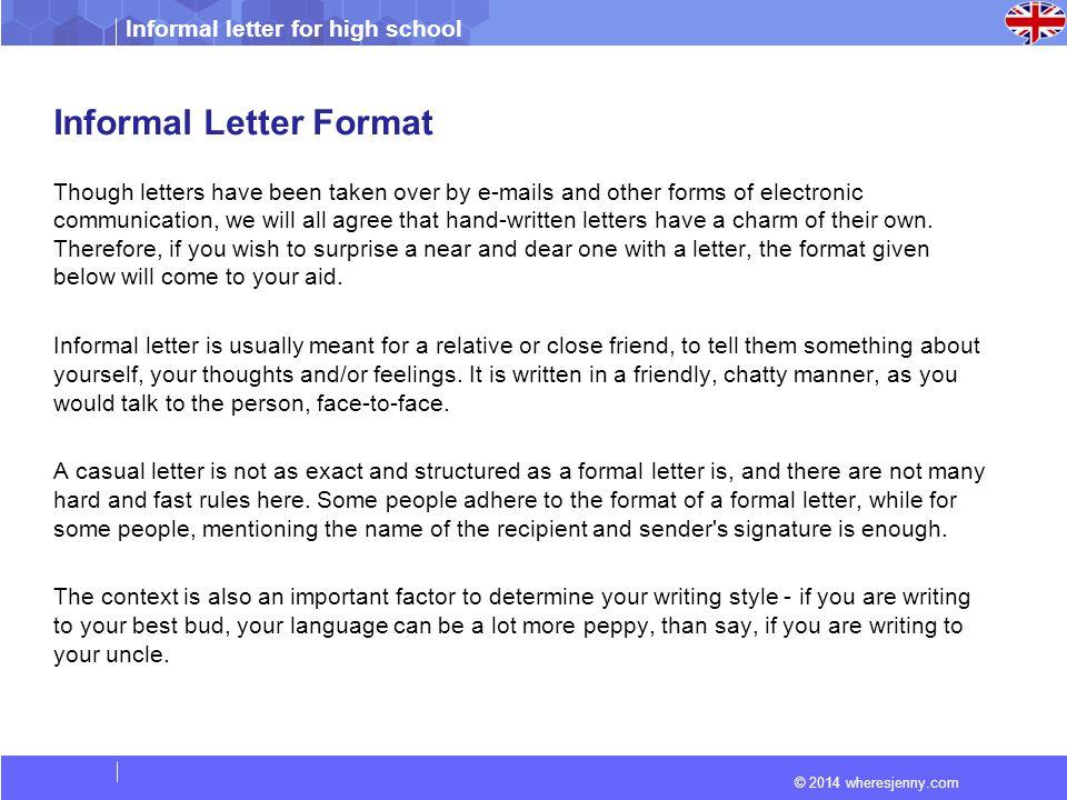 2 informal