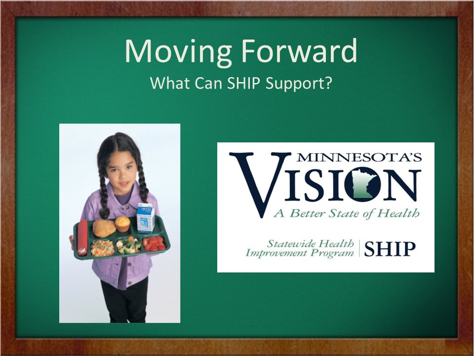 Moving Forward What Can SHIP Support
