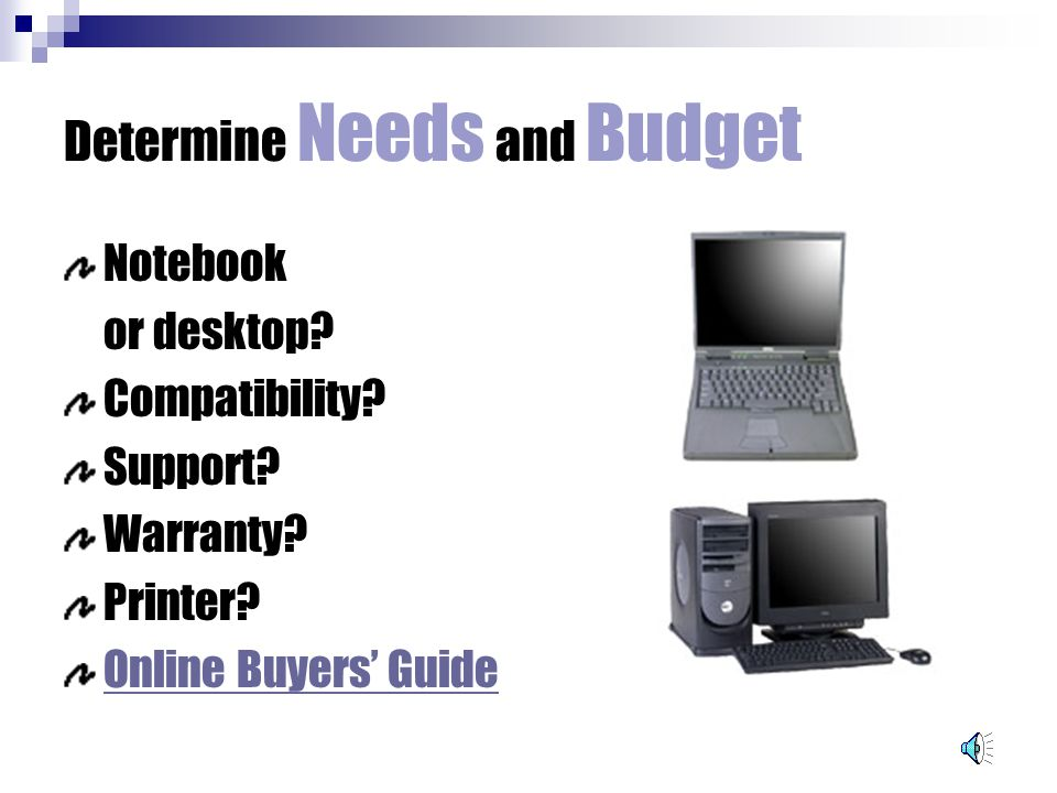 buying a computer getting the real deal categories of computers rh slideplayer com Gift Guide Tablet Buying Guide