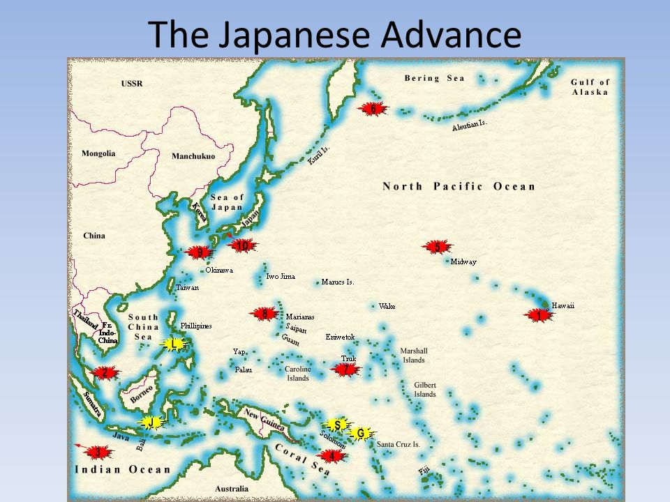 The Japanese Advance