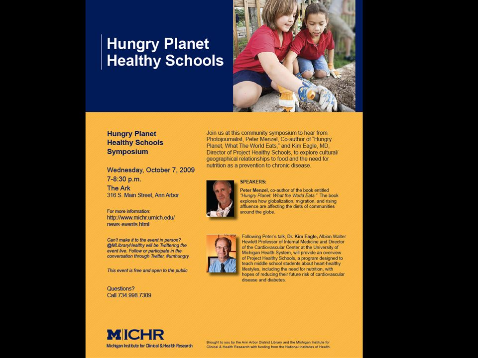 MICHR Community Engagement Program Community Research