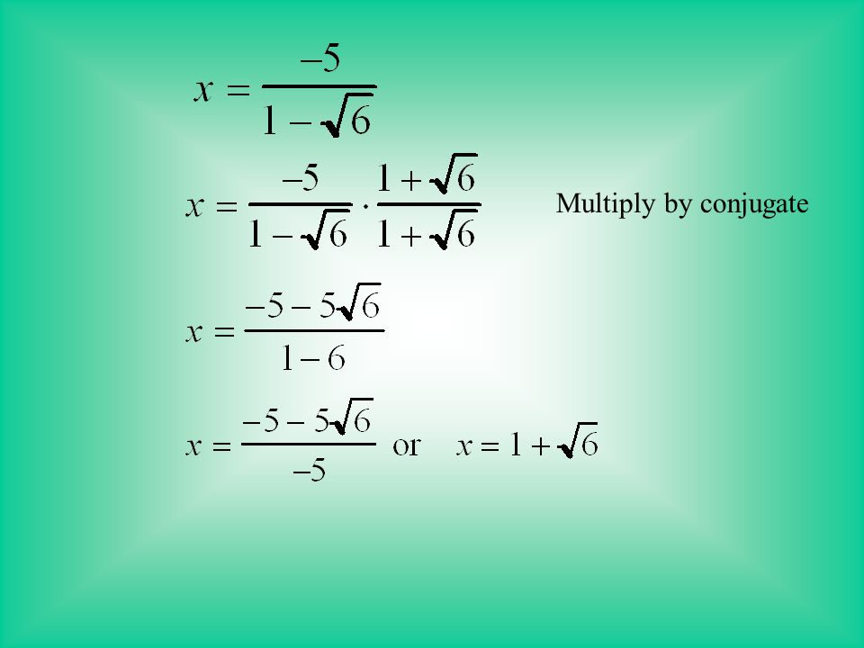 To solve an equation with a radical expression, you need to isolate the variable on one side of the equation.