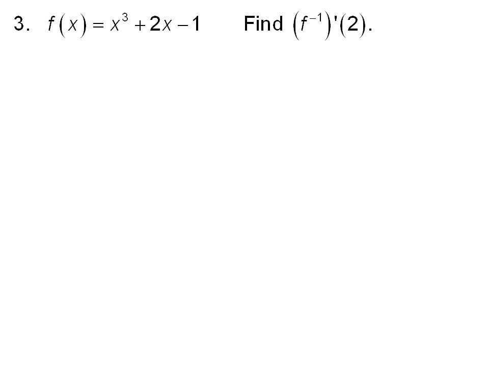 Chapter 5 Section 5 3 Inverse Functions Ppt Download