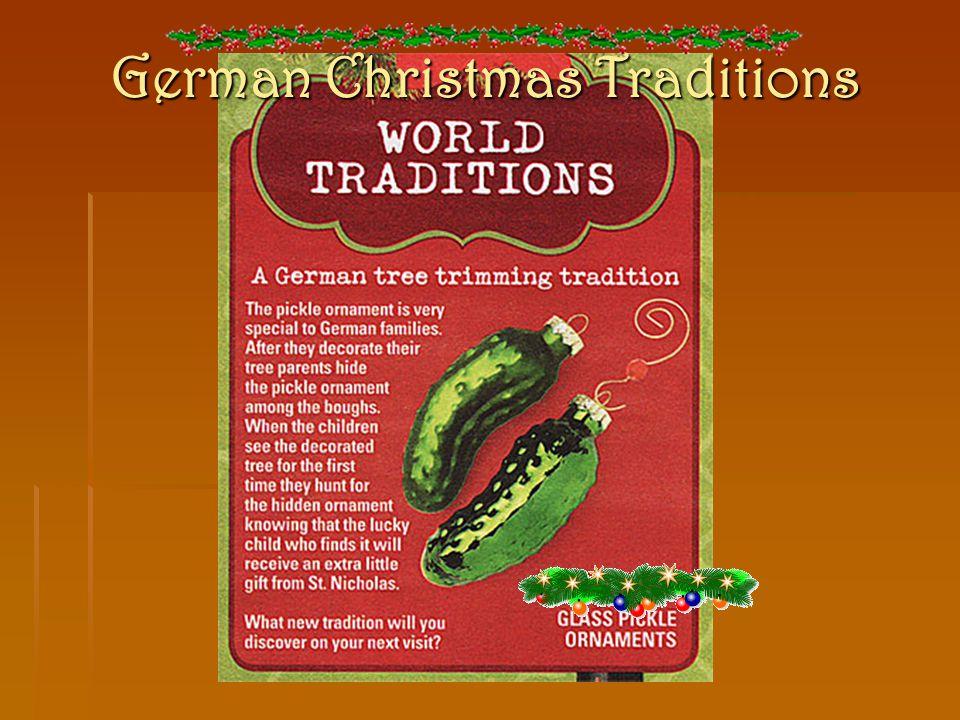8 german christmas traditions