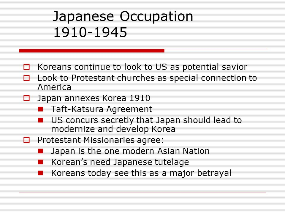 Korea In The 1900s Japanese Occupation Liberation And Division Ppt
