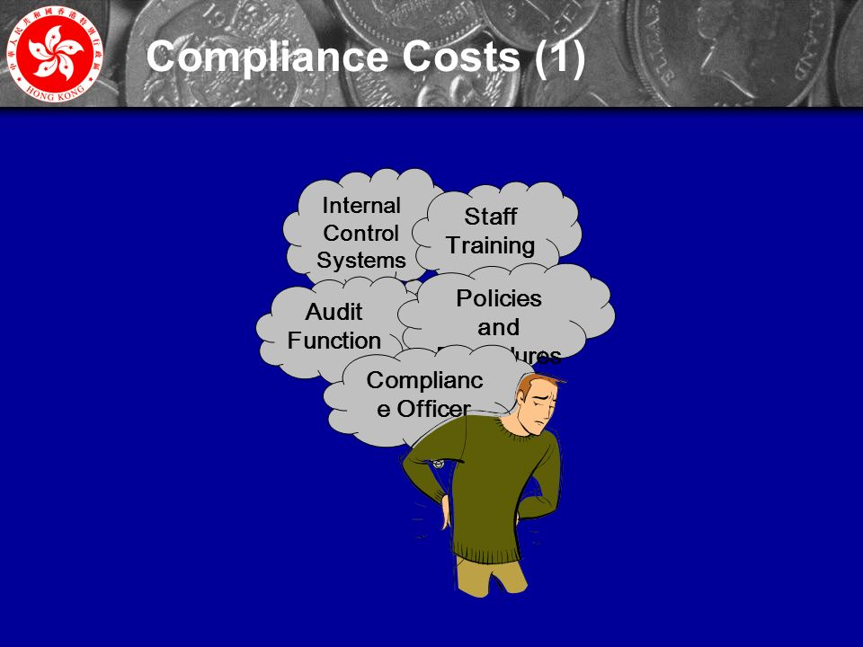 30 Internal Control Systems Staff Training Audit Function Policies and Procedures Complianc e Officer Compliance Costs (1)
