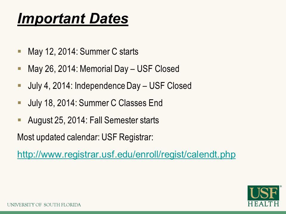 Usf Registrar Calendar.Welcome To The College Of Nursing Emmanuel J Rivera Mhrm Manny