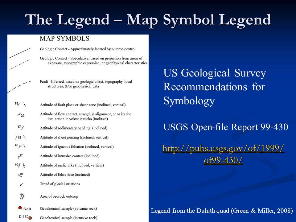 Components of Geologic Maps By Mark A. Jirsa and Terrence J ... on