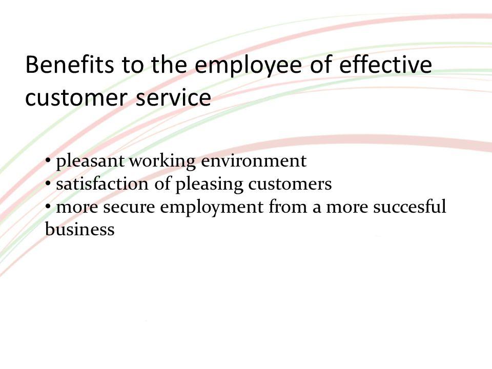 benefits of good customer care