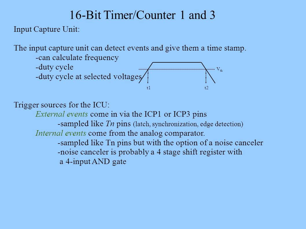 16 Bit Timer Counter 1 And 3 13 Tcnt1 Tcnt3 Are F Stop Icu Gate 10