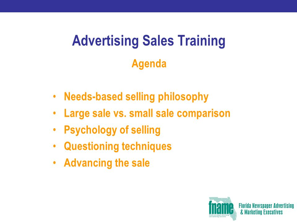 advertising sales training cindy ramsey st petersburg times ppt