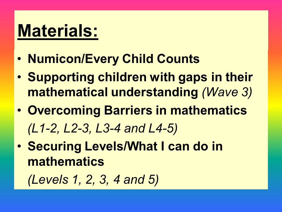 overcoming barriers in mathematics