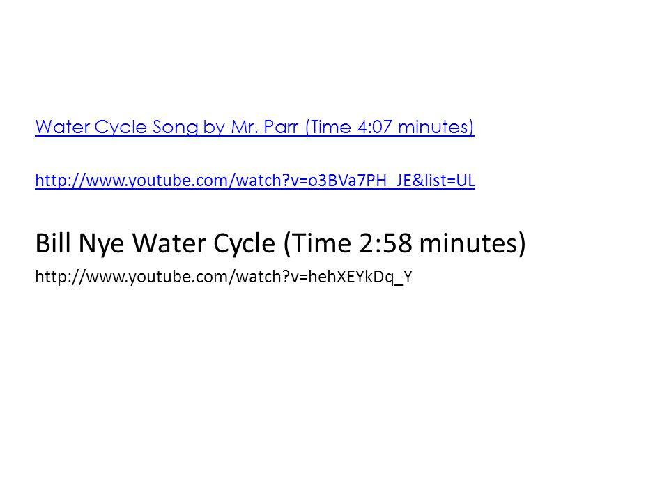 Bill Nye Water Cycle - Water Ionizer