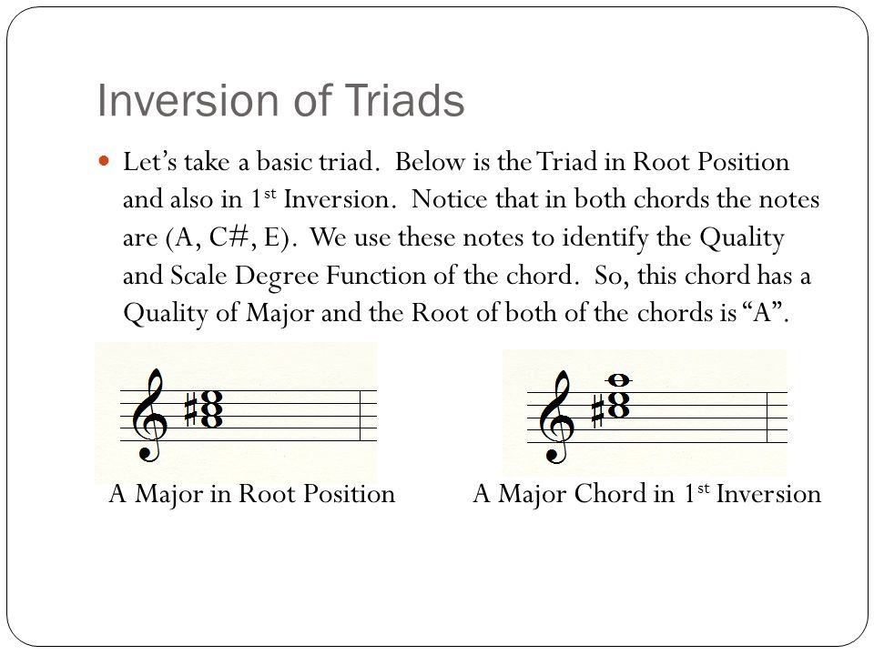 NCVPS AP Music Theory Presentation by Dr. Tom Moncrief Inversions of ...