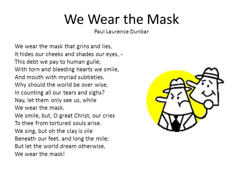 We Wear The Mask Essay Conclusion  Mistyhamel We Wear The Mask Essay Compare And Contrast Essay Examples For High School also Essay Sample For High School  Persuasive Essay Topics For High School