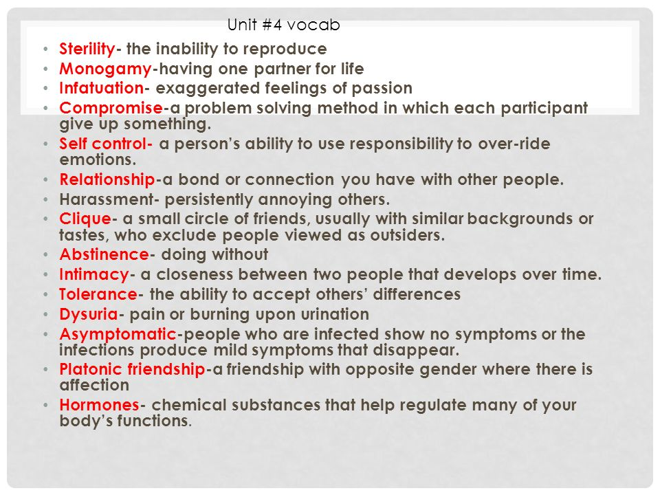 infatuation signs and symptoms