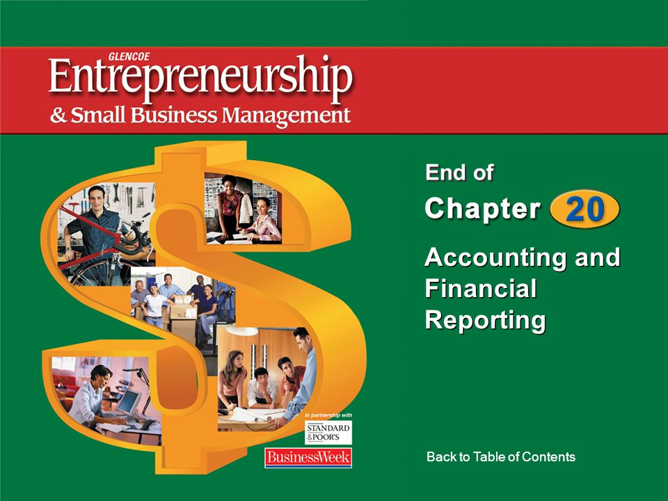 Accounting and Financial Reporting Back to Table of Contents End of