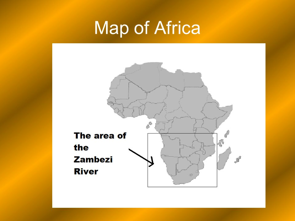 Zambezi River On Map Of Africa.Zambezi River Zambezi River By Siobhan Nash Index Pg 1 Title Pg 2