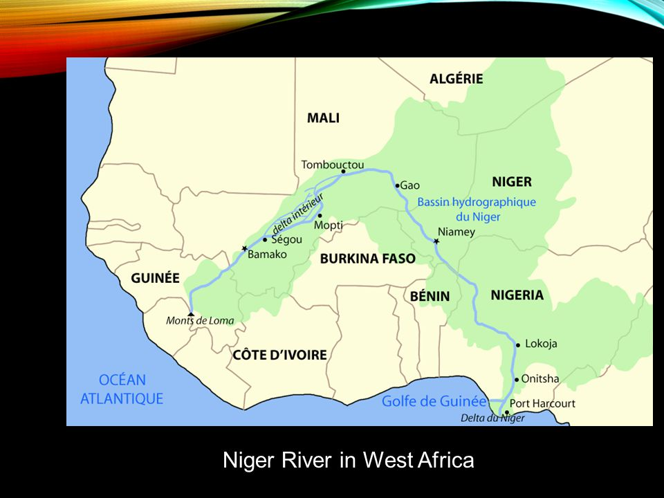 Niger River in West Africa