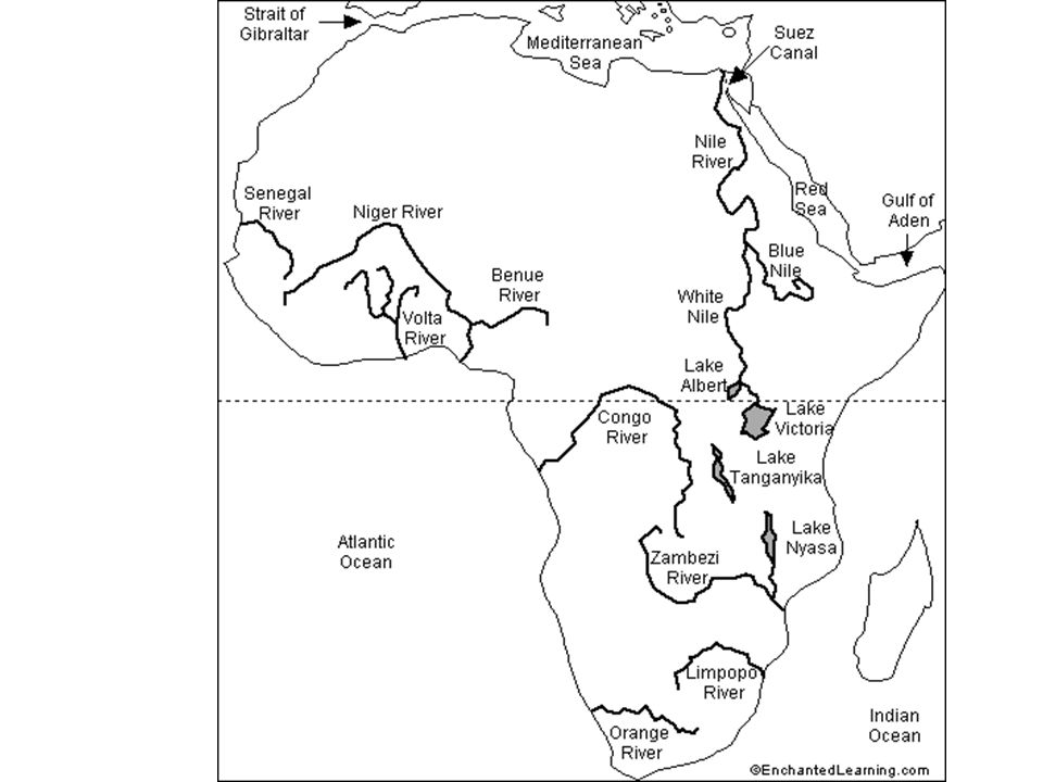 Geography Of Africa An Introduction Note For Midterm Make Sure You