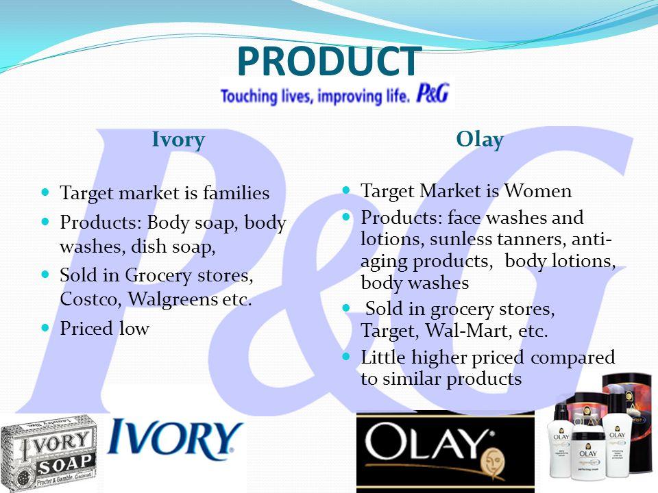 olay target market