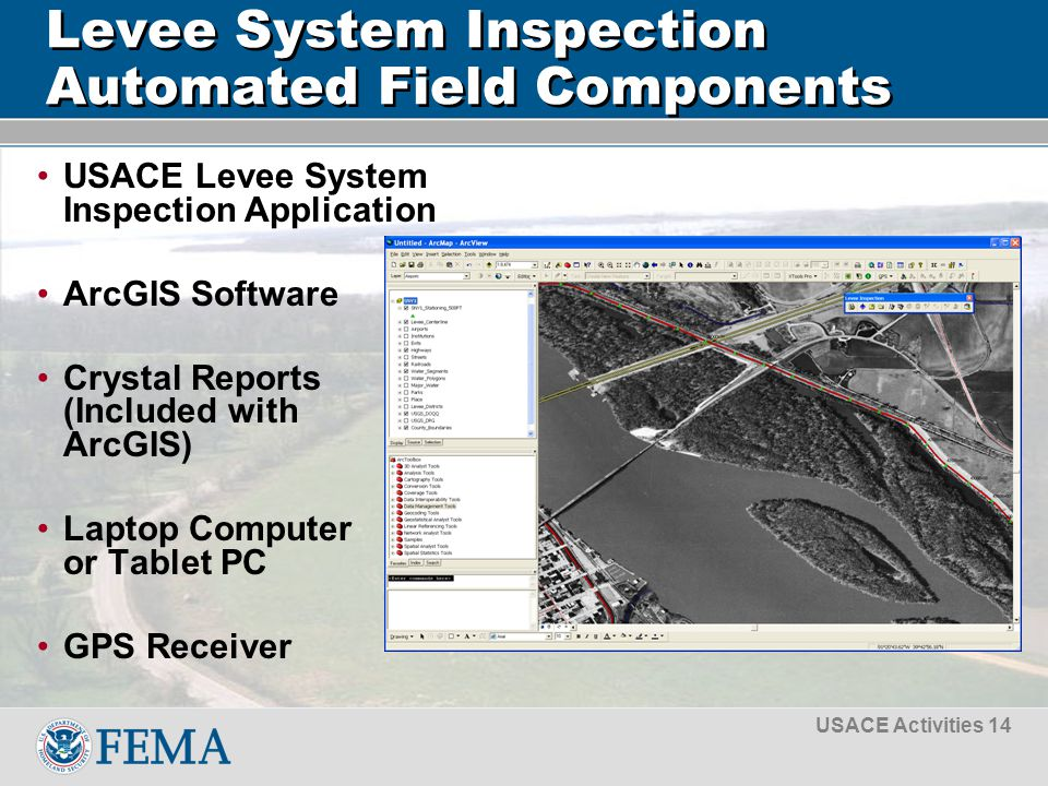 usace levee safety program presented by tammy conforti asfpm rh slideplayer com Levee Excavation Levee Construction