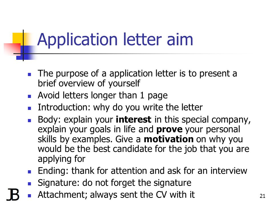 writing a cv and application letter by jan bollen ppt download