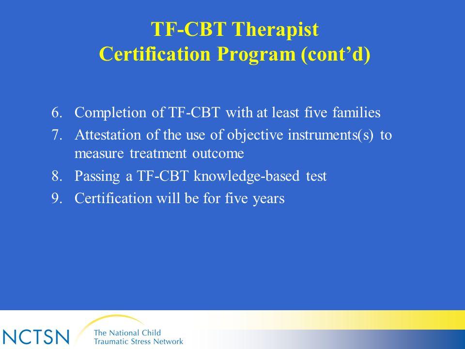 TF-CBT: Past, Present, and Future Anthony P. Mannarino, Ph.D ...