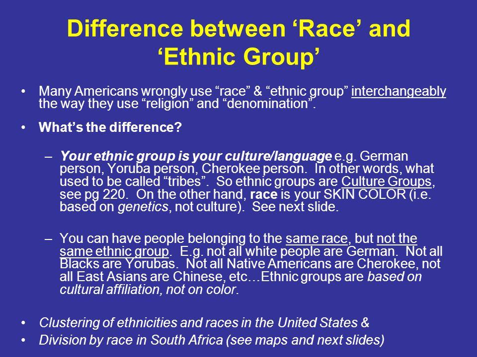 Ethnicity cultural landscape