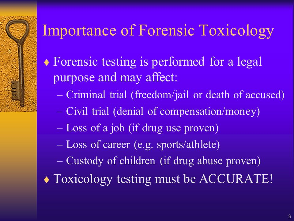what is the role of a forensic toxicologist