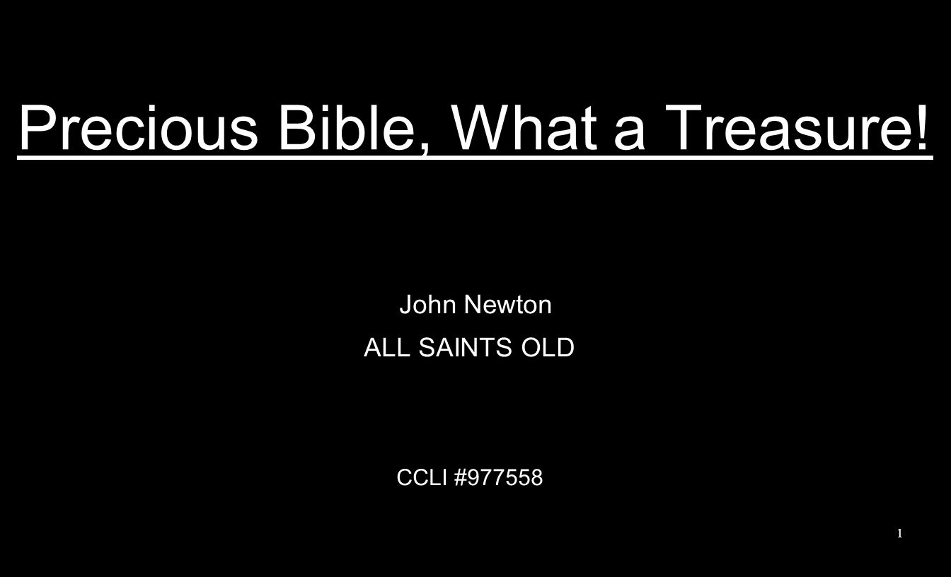 1 Precious Bible ...